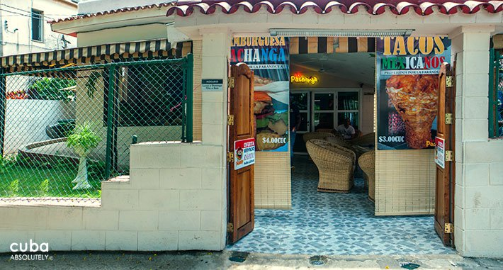 La Pachanga restaurant in New Vedado © Cuba Absolutely, 2014