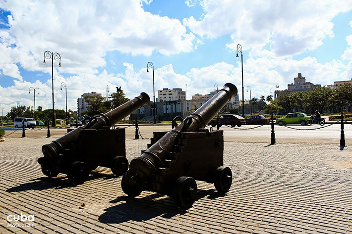 cannons at La Punta castle © Cuba Absolutely, 2014