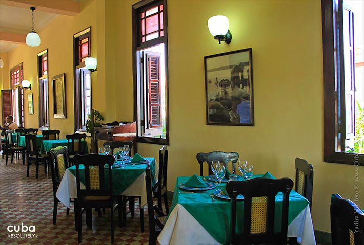 restaurant in Cojimar© Cuba Absolutely, 2014