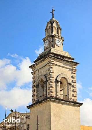 clock tower of Our Lady of Belen convent in old Havana © Cuba Absolutely, 2014