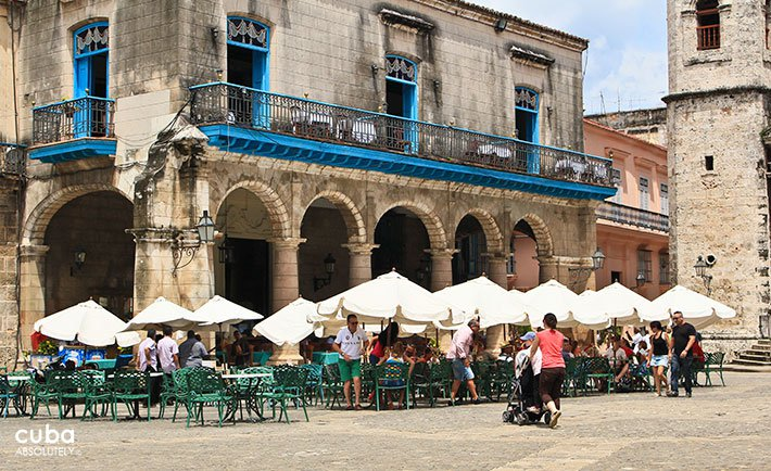... Restaurant El Patio In Cathedral Square In Old Havana© Cuba Absolutely,  2014 ...