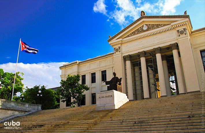 University of Havana in Vedado © Cuba Absolutely, 2014