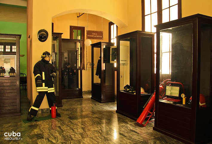 Firemen museum in old havana© Cuba Absolutely, 2014