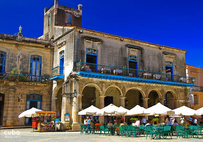 ... El Patio Restaurant In Cathedral Square In Old Havana© Cuba Absolutely,  2014 ...