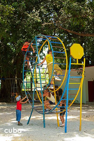 kids park at 26 Zoo in New Vedado© Cuba Absolutely, 2014