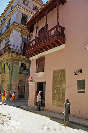 pink building, Gaspar y Vasconcelo house in old havana© Cuba Absolutely, 2014