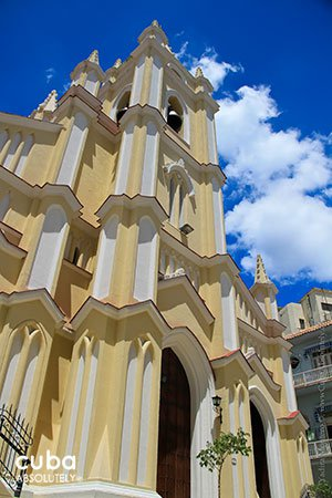Church of Santo Angel Custodio© Cuba Absolutely, 2014