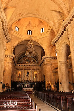 Cathedral of Habana in old havana© Cuba Absolutely, 2014