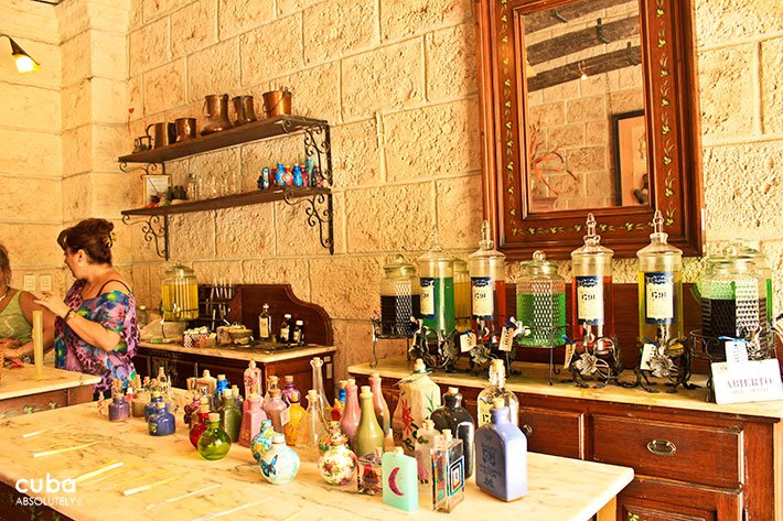 Perfume shop in old havana© Cuba Absolutely, 2014