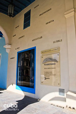 entrance of  Planetario in old havana© Cuba Absolutely, 2014