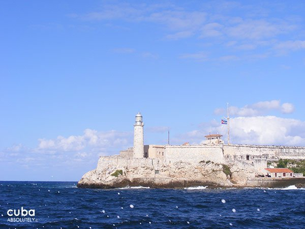 view from across the bay of Morro Castle © Cuba Absolutely, 2014