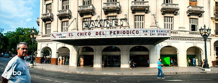 Payret cinema an antique building in old havana© Cuba Absolutely, 2014 - 2020