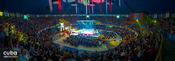 Boxing event in Sports City © Cuba Absolutely, 2014 - 2020