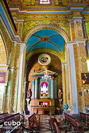 Details inside Merced church in Old Havana  © Cuba Absolutely, 2014 - 2020