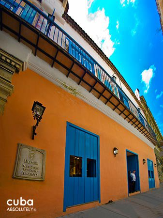 Marques del Prado Ameno hotel in Old Havana © Cuba Absolutely, 2014 - 2020