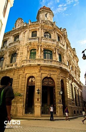 Raquel hotel in Old Havana, front  © Cuba Absolutely, 2014 - 2020