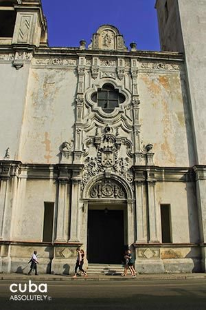 Carmen convent church,front © Cuba Absolutely, 2014 - 2020