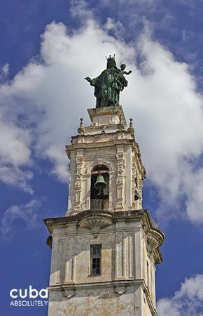Carmen convent church, virgin statue outdoor © Cuba Absolutely, 2014 - 2020