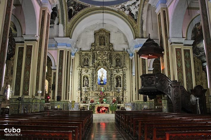 Carmen convent church, altar© Cuba Absolutely, 2014 - 2020