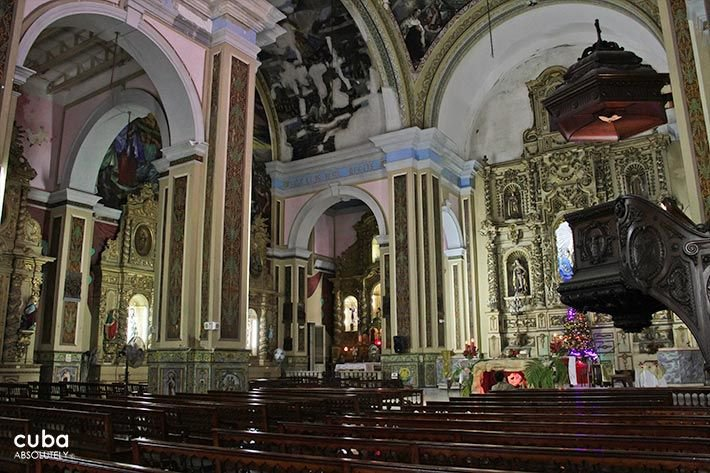 Carmen convent church, inside © Cuba Absolutely, 2014 - 2020