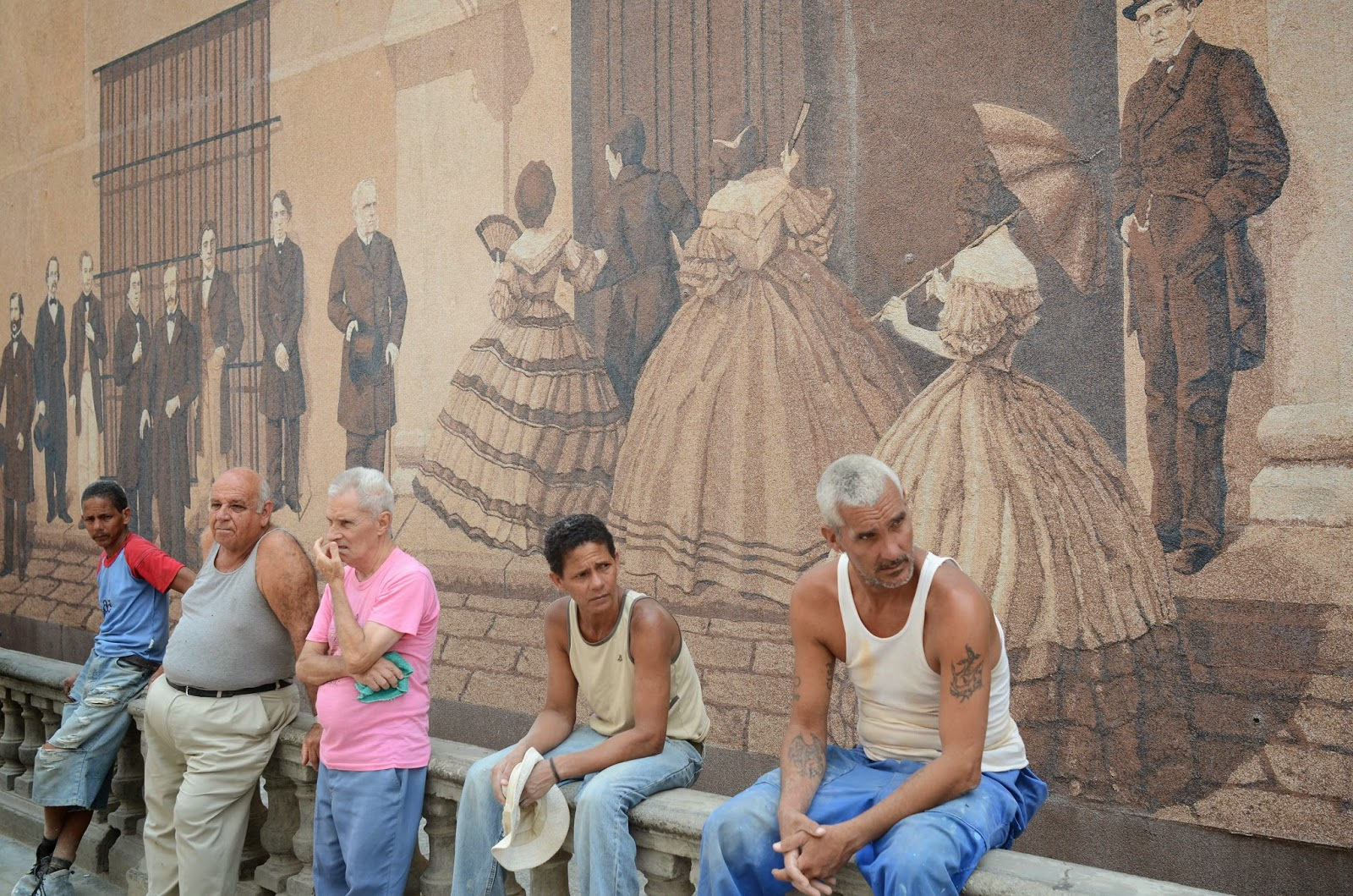 History mural havana city guide for Mural history