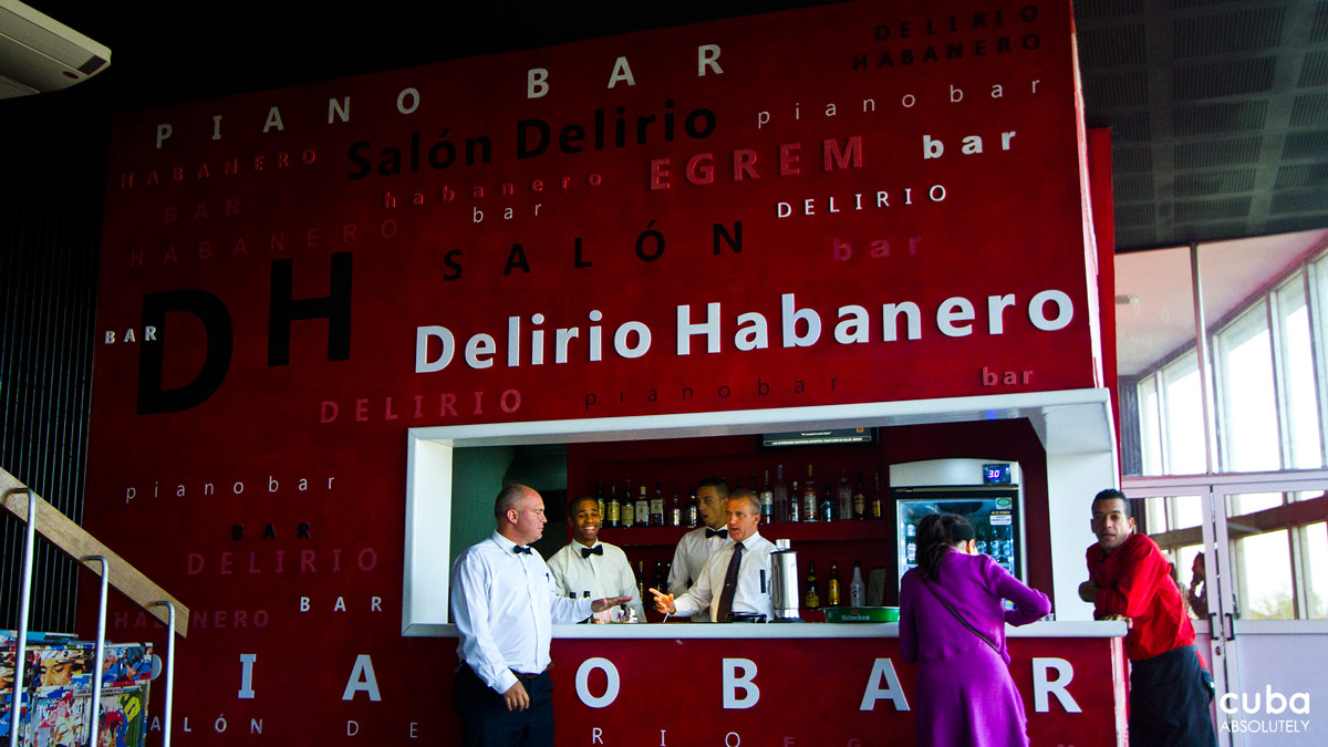 Piano Bar Delirio Habanero is located in the premises of the Teatro Nacional and is regarded as one Cuba's best live music venues. Havana, Cuba