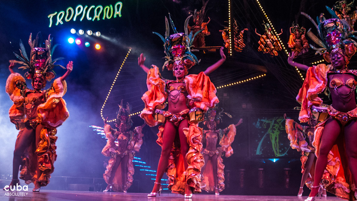 Welcome to the Tropicana, the most famous of Cuba's pre-revolutionary open-air extravaganzas--girls! girls! girls! Now in its seventh decade of Vegas-style paganism. Havana, Cuba
