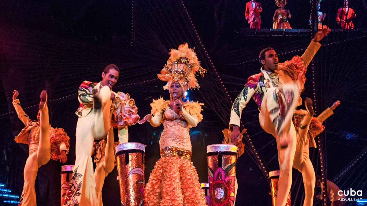 The presentations of the Tropicana ballet have been acclaimed all over the world. Havana, Cuba