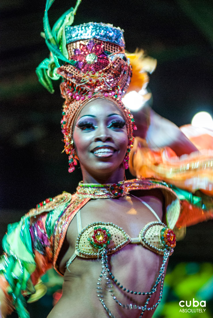 Tropicana, symbol of Cuban culture, is best known for the beauty and grace of its dancers. Havana, Cuba