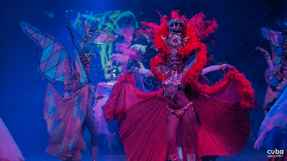 """People associate the Tropicana with mulata showgirls who are beautiful, well endowed and sensual,"" says the show's public relations director, Juan Carlos Aguilar. Havana, Cuba"