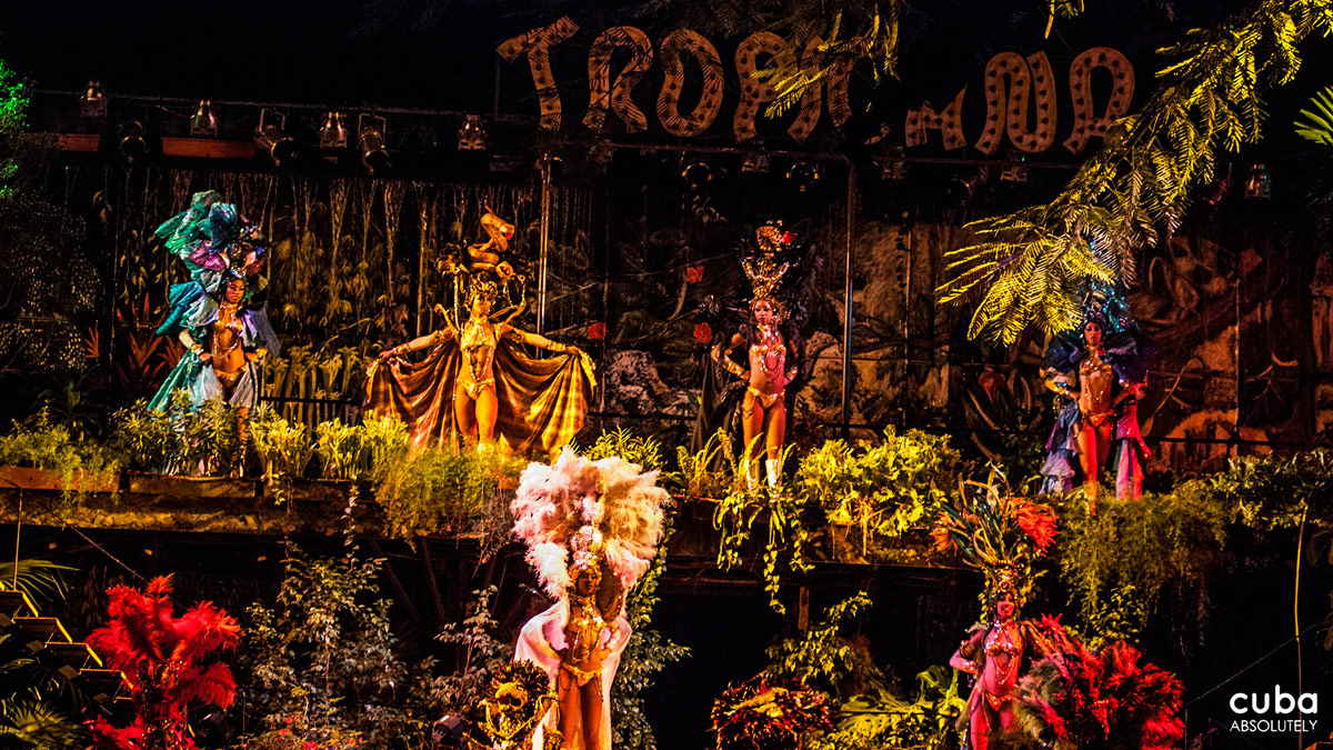 Tropicana is a national institution--the pinnacle of a performance art as syncretistic as Santería itself and as quintessentially Cuban as cigars and rum. Havana, Cuba