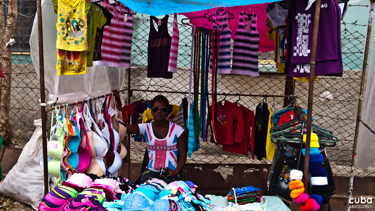 Women's Clothing in La Cuevita. Havana, Cuba