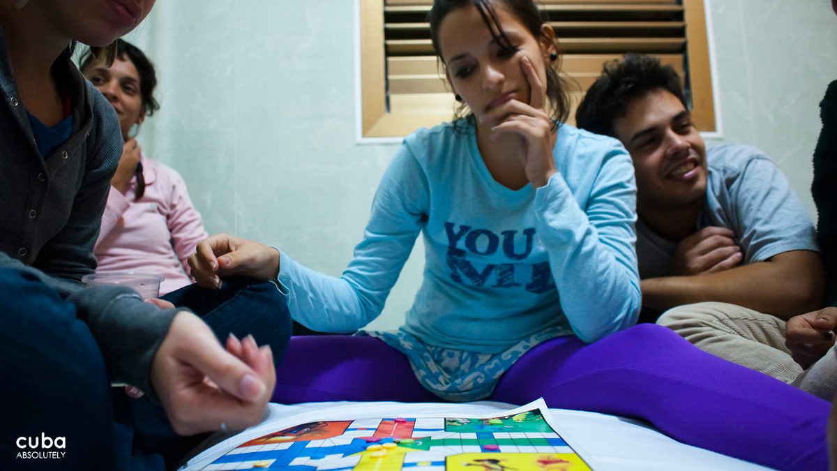 It's dark outside and we've had it with Twister--I know, Parcheesi! Havana, Cuba