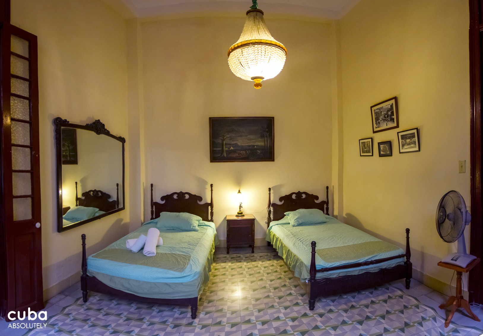 The large bedrooms of Casa 1932 are all elegant, but the newest room, although the smallest, was my favourite for the attention to detail and atmosphere. Havana, Cuba
