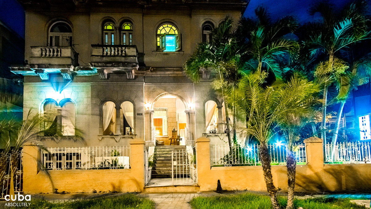 Owned by a pair of retired Danza Contemporánea de Cuba dancers, this bar/restaurant housed in a Vedado mansion epitomizes sophisticated casual, with its plant-filled wraparound terrace, warm lighting, and individual couches and seating areas. Havana, Cuba