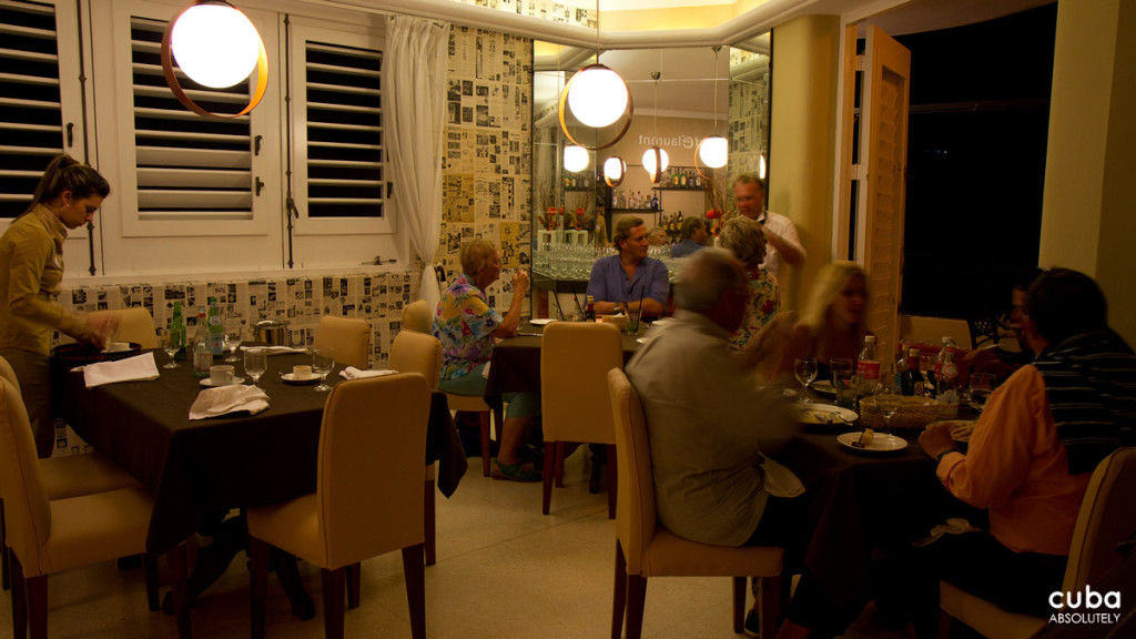 The lighting is warm and atmospheric, the music trendy yet melodic, and the service superb placing it clearly in high-end territory. Havana, Cuba