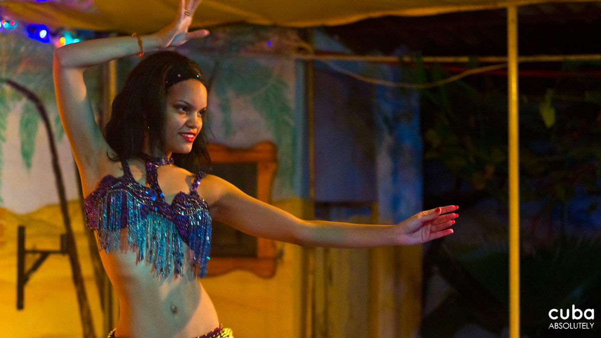 The belly-dancing show is only on Saturday night, so don't miss it! Havana, Cuba