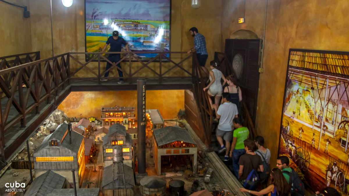 The Museo del Ron shows the stages of traditional rum production. Havana, Cuba
