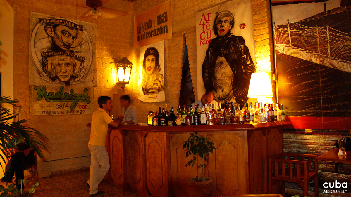 Café Madrigal is the sort of place that Hemingway would have liked in his Paris phase--intellectual, intense, artistic. A gathering point, a meeting place. Stick to something simple here--a mojito should do the trick. Havana, Cuba