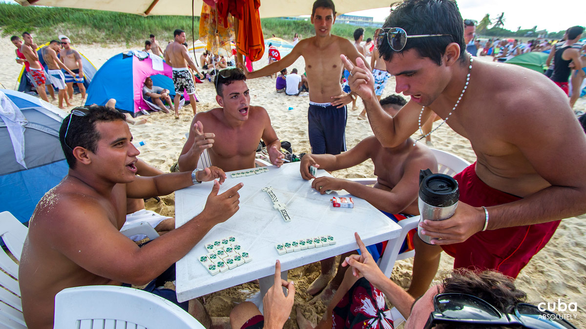 Among the masculine preparations, the set of dominos will always be there. Havana, Cuba