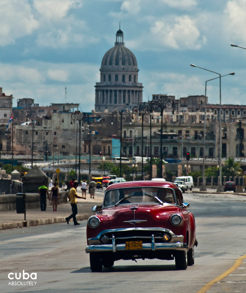 There's only way to get around the big easy that is La Habana—in a vintage Chevy, known as an almendrón. Havana, Cuba