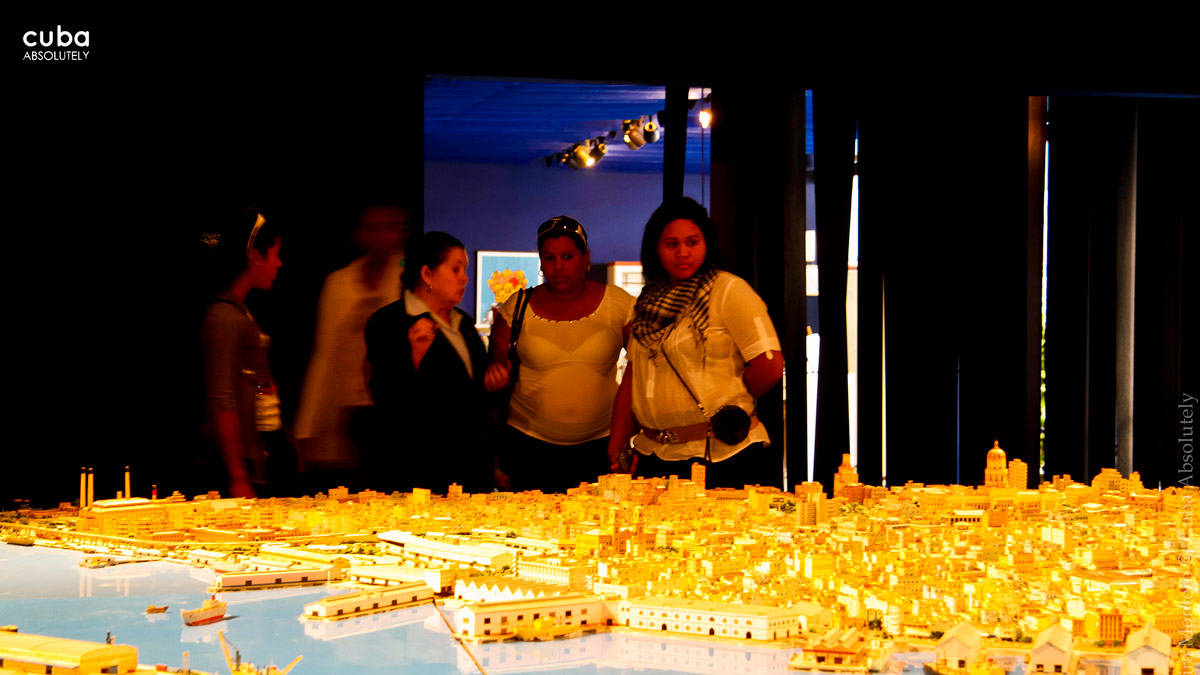 Scale models are used all over the world in architecture, research and urban planning. Havana, Cuba
