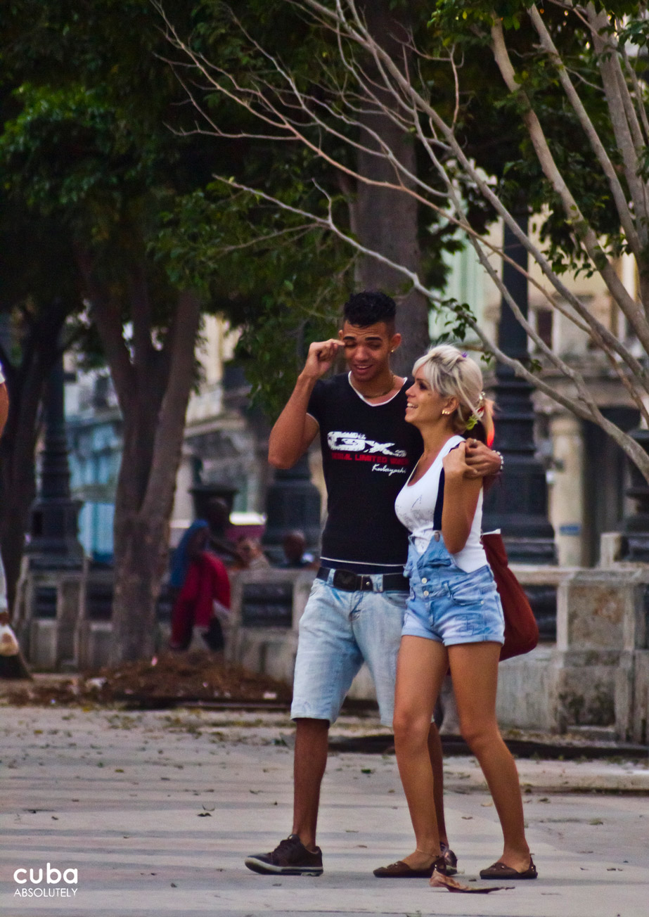 Saint Valentine's Day is mostly a grand celebration of romantic love between two people, the love and affection for friends, family and acquaintances is also celebrated on this day. Havana, Cuba