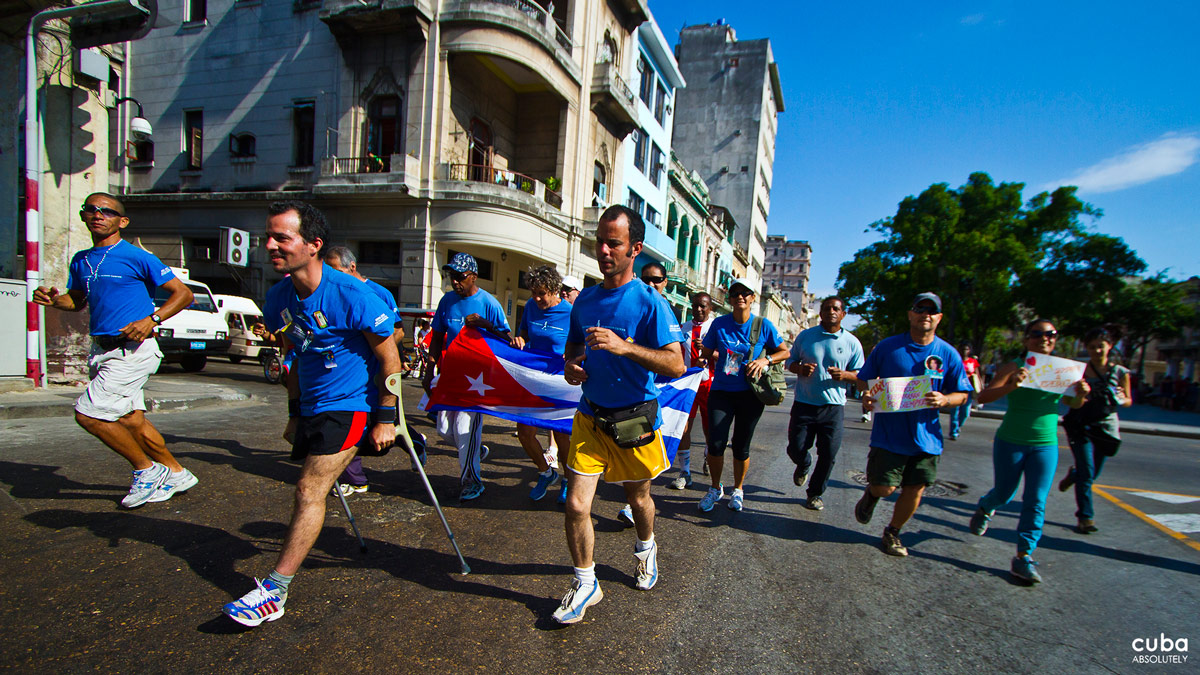 The Terry Fox Run was first held in Cuba in 1995. Havana, Cuba