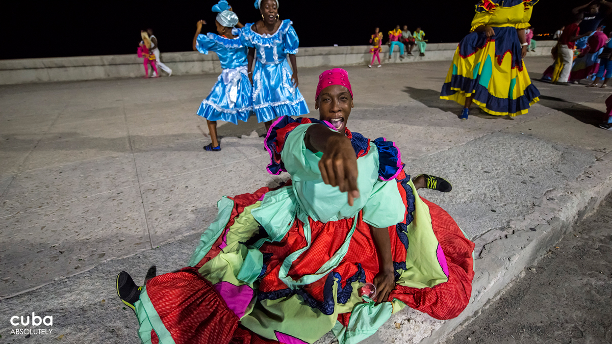 After the triumph of the Revolution, the carnival ball was replaced by open air dances in large public spaces while the long-standing February festivities were moved to the summer months to coincide with the celebration of certain historic events. Havana, Cuba