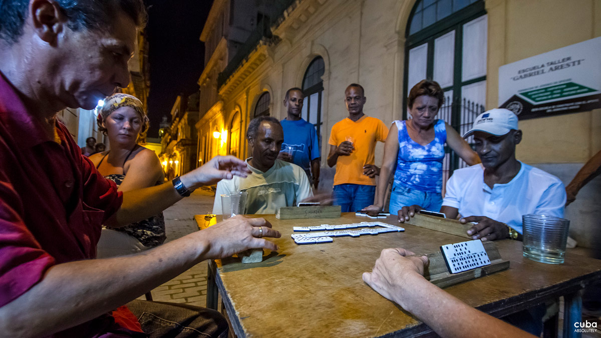 While fruit punch is the usual beverage for kids and senior citizens, the omnipresent rum is coveted by the men--and some women. Havana, Cuba