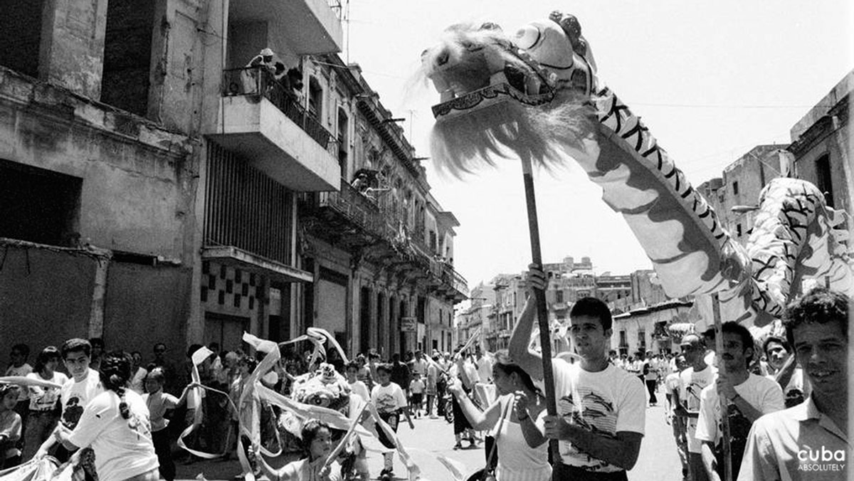 This year 2012 is marked by the presence of the Dragon. It is a mythological symbol that represents fertility, immortality and happiness. It is also the divine ruler of sea, rivers and lakes. Havana, Cuba