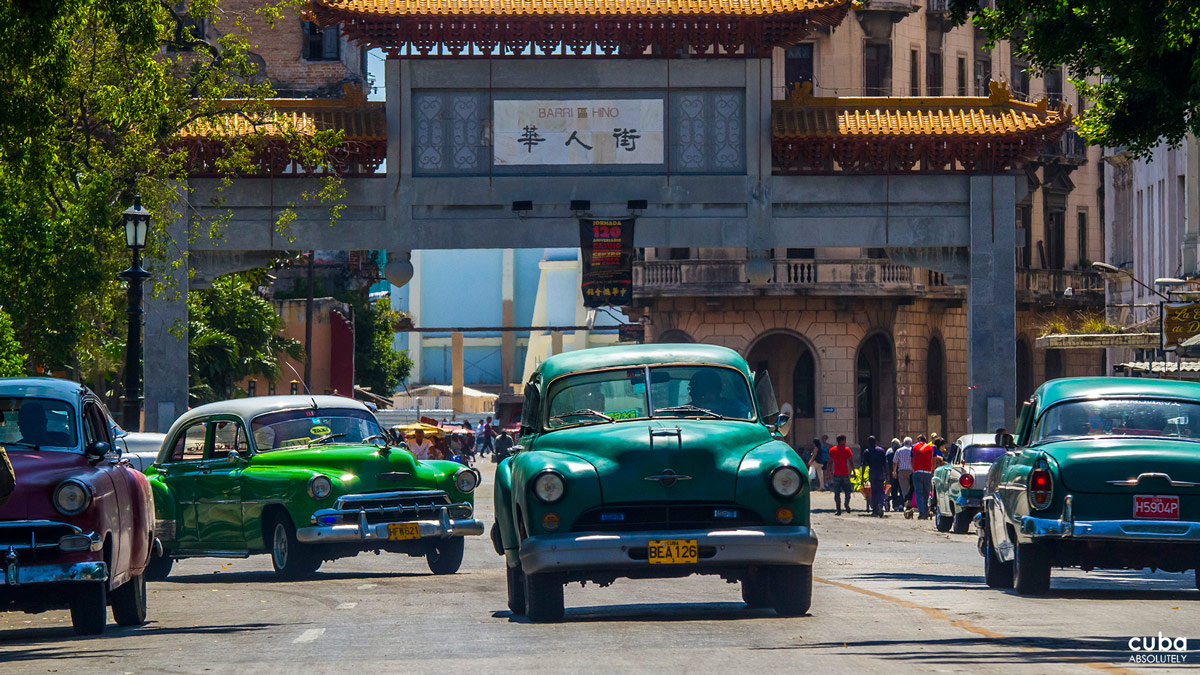 Cuba's Chinatown, or Barrio Chino, is centered around Zanja, Amistad and Dragones Streets in the heart of Centro Habana. Located just a few meters away from El Capitolio, this is the largest and most important Chinatown in the New Continent. Havana, Cuba