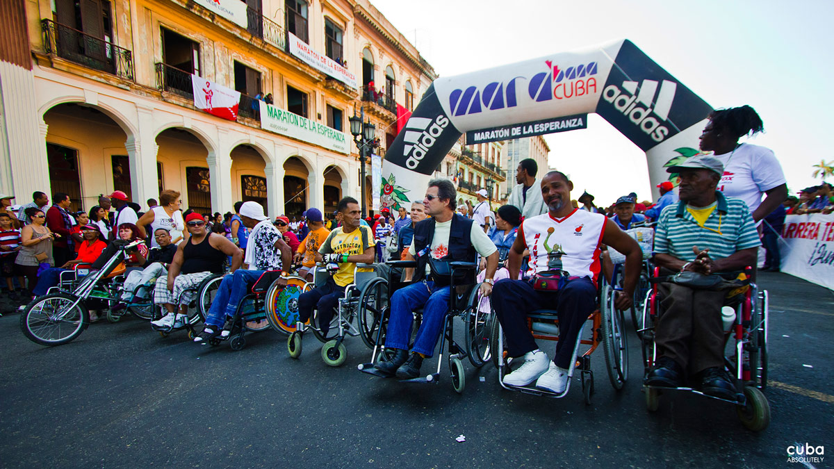 The Terry Fox Run was founded in 1981 by Isadore Sharp, who contacted Terry in hospital by telegram and expressed his wishes to hold an annual run in Terry's name to raise funds for cancer research. Havana, Cuba