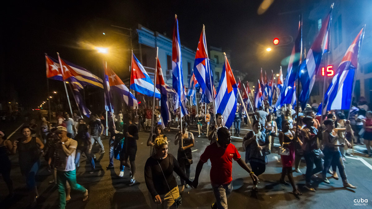 Sixty years after the first march, however, one thing is certain: the streets of Havana continue to fill with youth holding torches on the evening of January 27th. Havana, Cuba